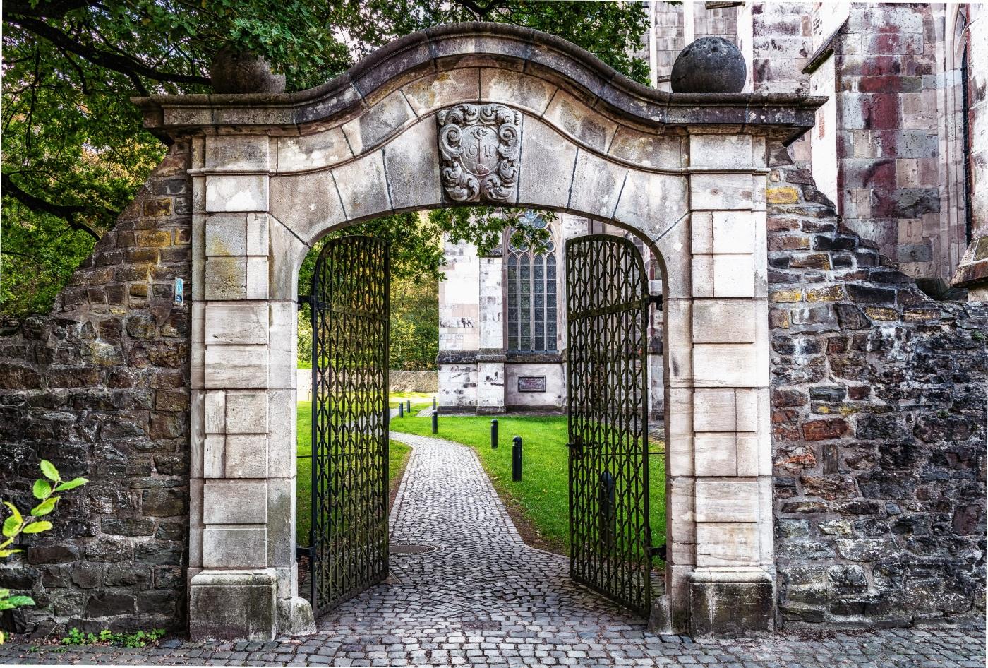 Castle with Doors open